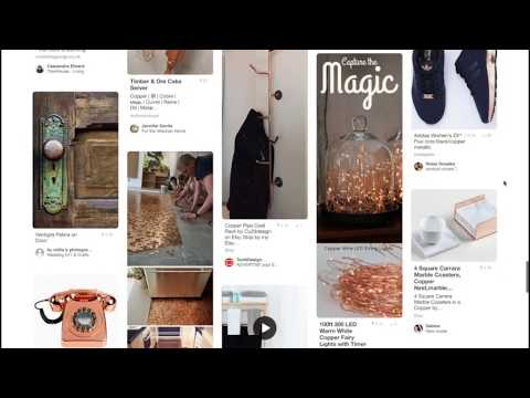 DIY Branding - Pinterest Inspiration Board, Mood Board, Color Palette