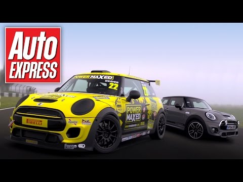 Ultimate MINI track battle: MINI Challenge 210 vs MINI Challenge race car