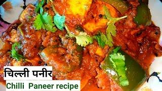 Chilli paneer recipe     How to make chilli paneer  recipe   nootan's world DMK