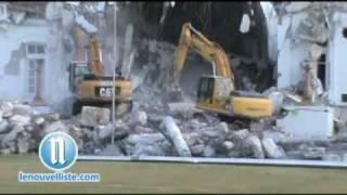 Demolition Palais National 2