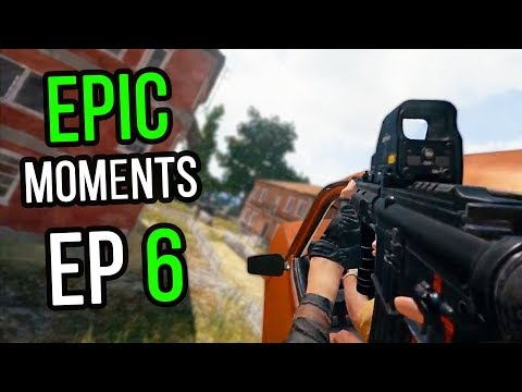 PUBG: Epic & Lucky Moments Ep. 6