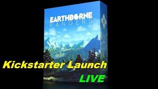 Earthborn Rangers - Kickstarter Launch Live + Video Reaction