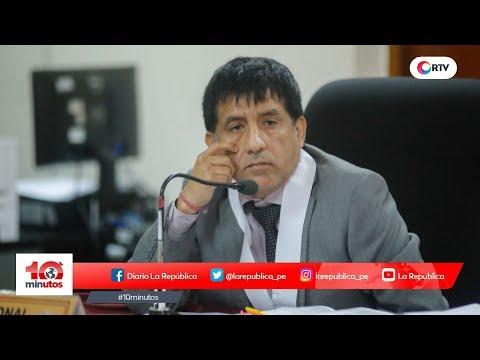 Revisarán hoy recusación que separó a Concepción Carhuancho - 10 minutos Edición Matinal