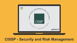 CISSP - Security and Risk Management
