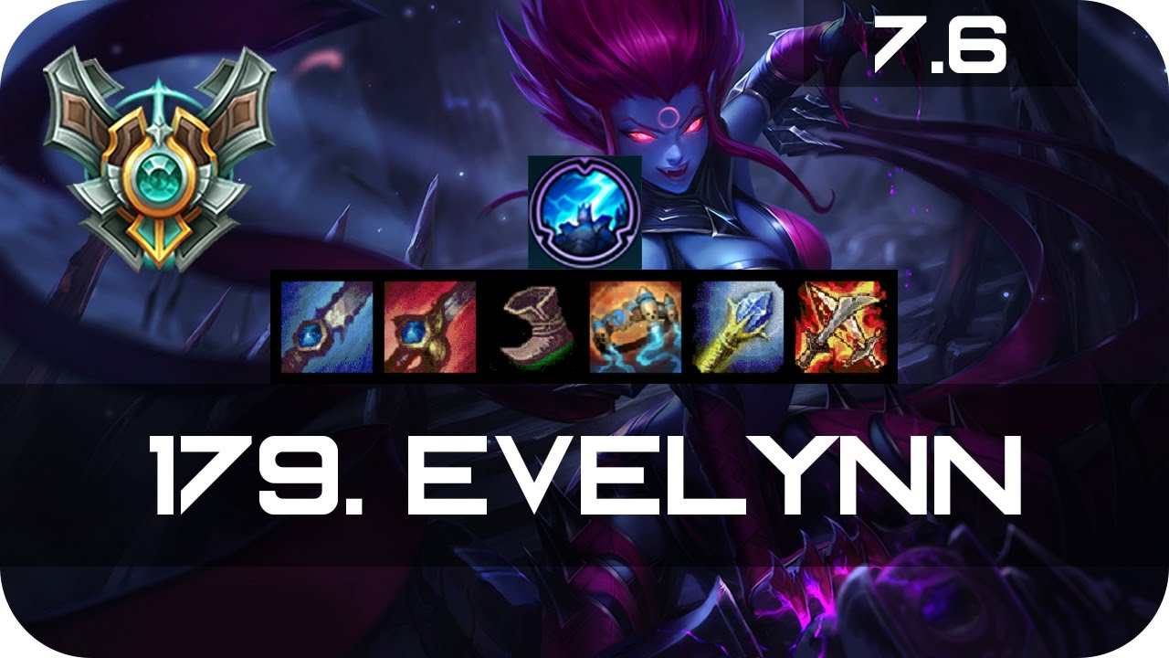 Shaco Build S7: Master Evelynn Jungle Vs Shaco Season 7 S7 Patch 7.6 2017