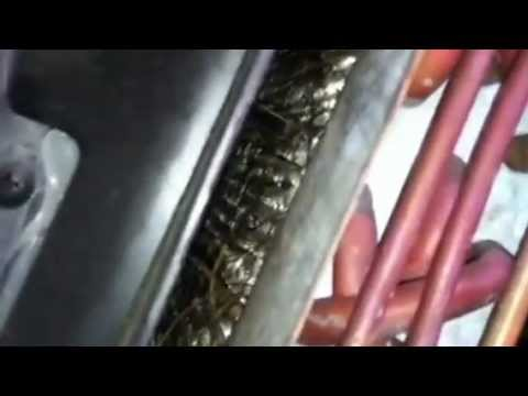 International Truck cabin air filter replacement - YouTube