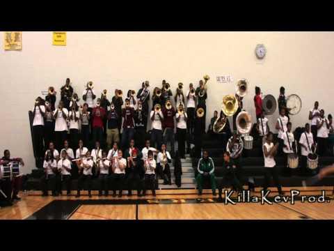Cass Tech High School Alumni Band - Cold Hearted Snake - 2012