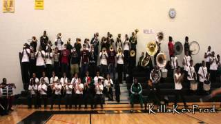 Cass Tech High School Alumni Band - Cold Hearted Snake - 2012