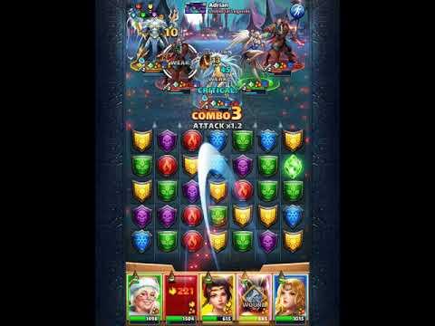 Vs Ariel Tank, Poseidon, 2 Gravemaker! All Maxed - Empires And Puzzles