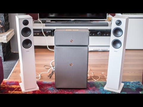 Audio Pro Addon T20 vs Drumfire - sound comparison