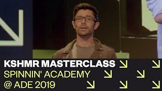 KSHMR Masterclass: How To Stop Making Beats And Be An Artist | Spinnin' Academy @ ADE 2019