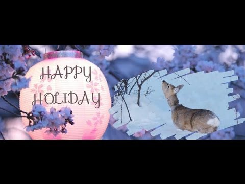Happy Holiday 2014! New Facebook Cover Editing With Funky Collage