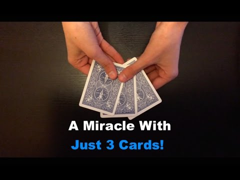 Thumbnail: 3 Cards: Amazing Simple Card Trick Revealed!