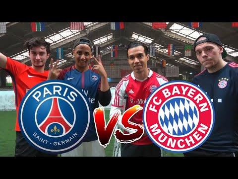 FC BAYERN (LEWANDOWSKI) vs PSG (NEYMAR) CHALLENGE | BROTATOS