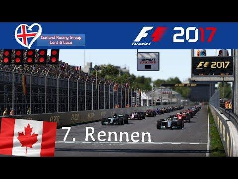 F1 2017 - Iceland-Racing-Group - Liga - 7. Rennen - Kanada