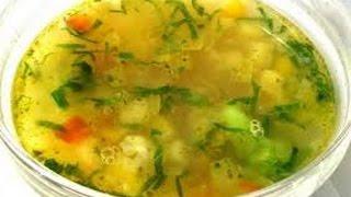 Овощной суп от Дженнаро Контальдо