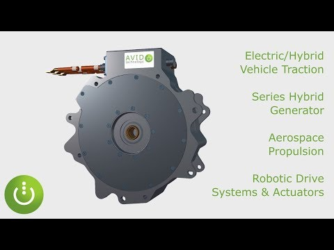 High Power & Torque Density EVO Electric Motors