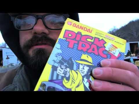 FLEA MARKET ADVENTURE (Retro Video Games, Vintage Toys, Antiques)