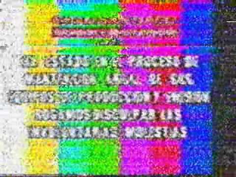 Señal Prueba de Gran Santiago Television - canal 22