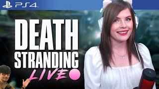 Death Stranding day 2: Sam Standing, wait what