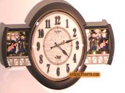 Seiko Wall Clocks Melodies In Motion Uk