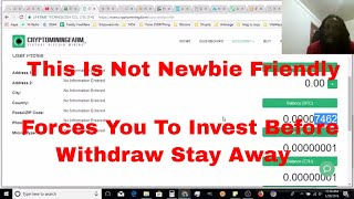 Cryptominingfarm 30 Day Review This is what happened!