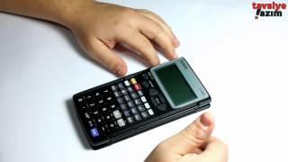 Casio fx-5800P Programlanabilir Bilimsel Hesap Makinası - İnceleme