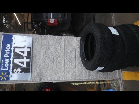 Douglas All Season Tires ($44 Walmart Tires)