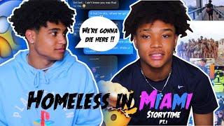 WE WERE HOMELESS IN MIAMI ON SPRING BREAK!!! | STORYTIME | (CRAZY ENDING)