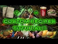 The Island Episode 29: Custom Recipe Tutorial!!!