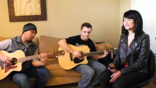 Come Together - Beatles (Blair Gabrielle Acoustic Cover ft. Josh Vong & Alan Brackett)