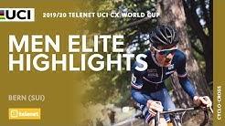 Men Elite Highlights - Bern   2019/20 Telenet UCI CX World Cup