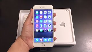 Apple iPhone 6 Plus 64 GB Gold Unlocked Unboxing + Comparison