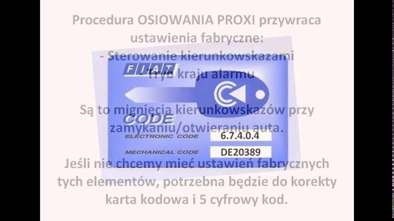 FIAT - Osiowanie - PROXI-Alignment