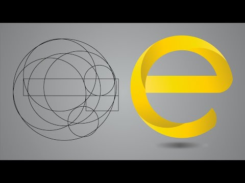 Professional logo Design tutorial in adobe illustrator | Letter logo design tutorial thumbnail