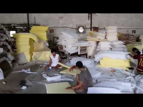 Outdoor Furniture Cushion using Quick Dry Foam (QDF) and Sunbrella Fabric