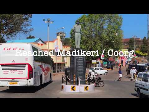 Mysore To Coorg / Madikeri / Mercara - Road Trip On Mercedes Benz GLC 220D