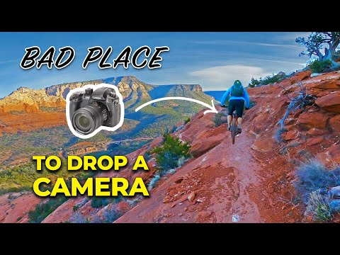 I lost a $2500 camera while mountain biking, so we went on a quest to find it