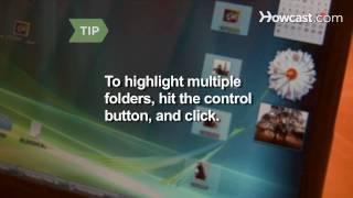 How to Zip a Folder