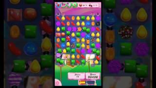 Candy Crush Saga level 1354. No booster.