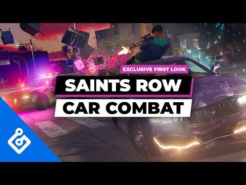 Перестрелка на автомобилях в новом видео перезапуска Saints Row