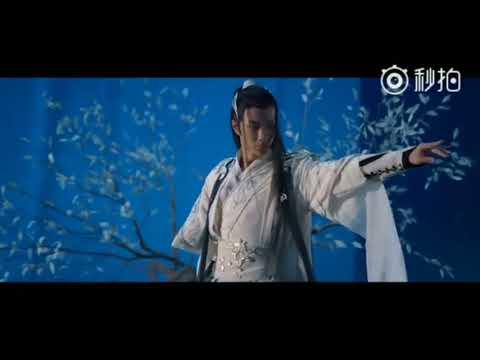 [CF] 180725 UNIQ Wang Yibo x Moonlight Blade making 2