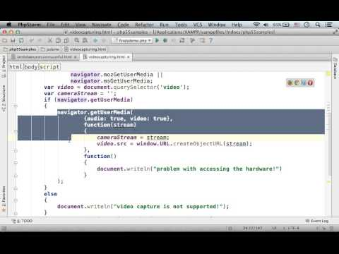 Video Capturing In HTML5