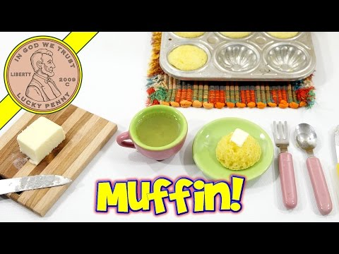 Peter Austin's Bake-O-Matic Kids Toy Oven - Mini Jiffy Corn Bread