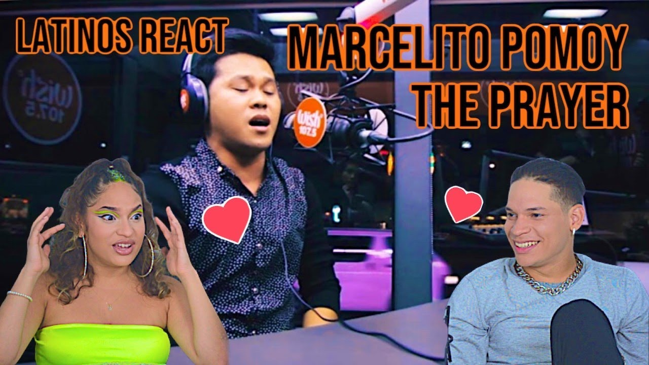 Latinos react to Marcelito Pomoy The Prayer LIVE on Wish| FIRST TIME REACTION