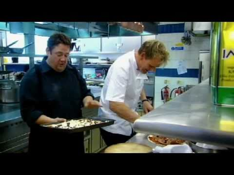 Johnny Vegas takes on Gordon Ramsay in recipe challenge  Gordon Ramsay