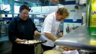 Johnny Vegas takes on Gordon Ramsay in recipe challenge - Gordon Ramsay