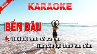 Karaoke Bển Dâu Cha Cha Cha   ben dau cha cha cha karaoke nhac song