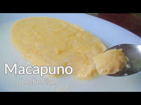 Macapuno Leche Flan