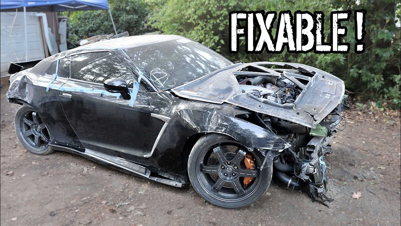 Introducing Our Nissan R35 GT-R Donor Car For The R34 Body Swap Build
